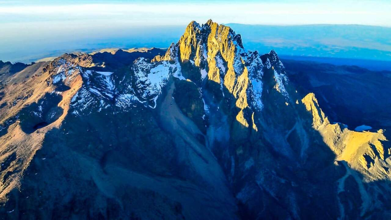 Summit Mt Kenya