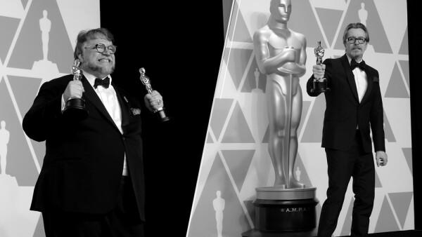 Guillermo del Toro y Gary Oldman