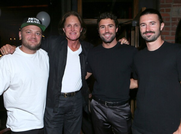 Burt Jenner, Bruce Jenner, Brody Jenner y Brandon Jenner en 2013.