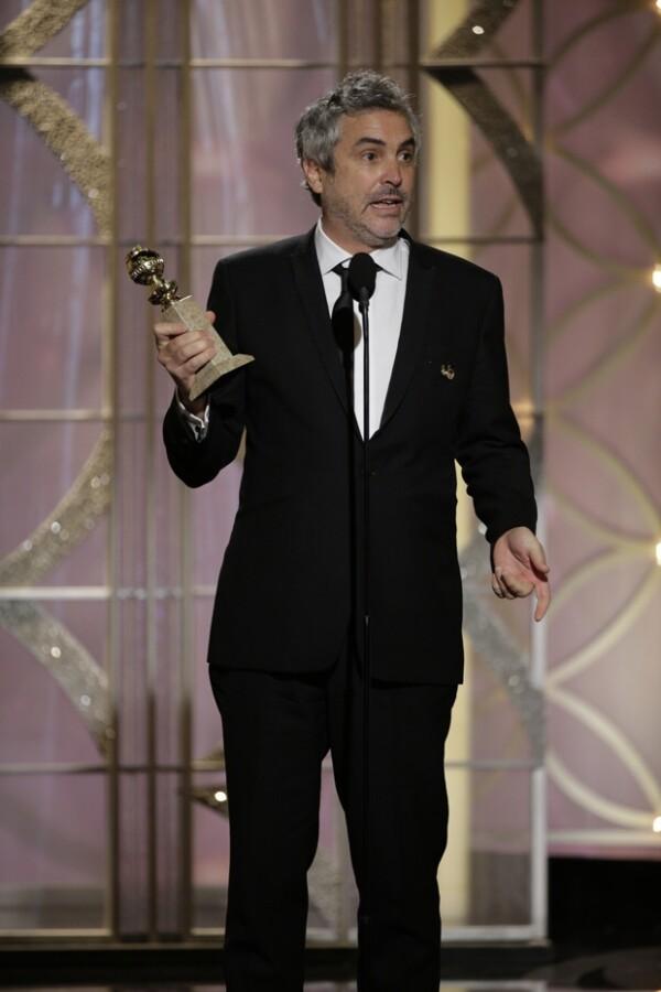 El director es el primer mexicano en ganar este premio en esta categoría.