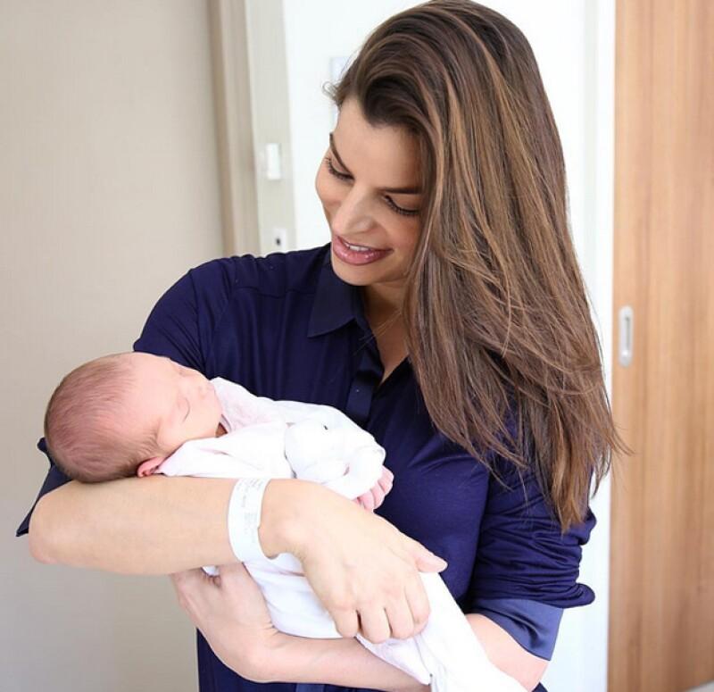 La empresaria mexicana no puede ocultar la gran emoción que siente tras el nacimiento de su primogénita Amaïa.