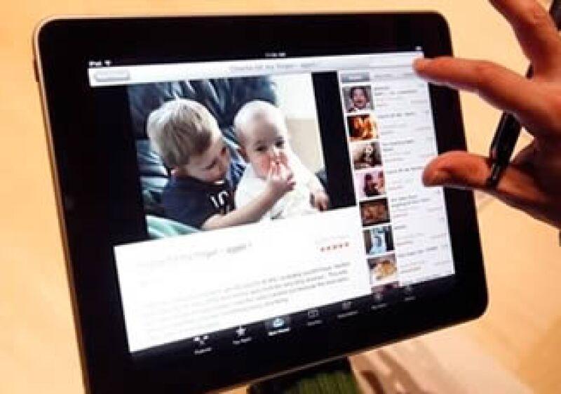 El iPad se ha convertido en un negocio no sólo para Apple (Foto: Reuters)