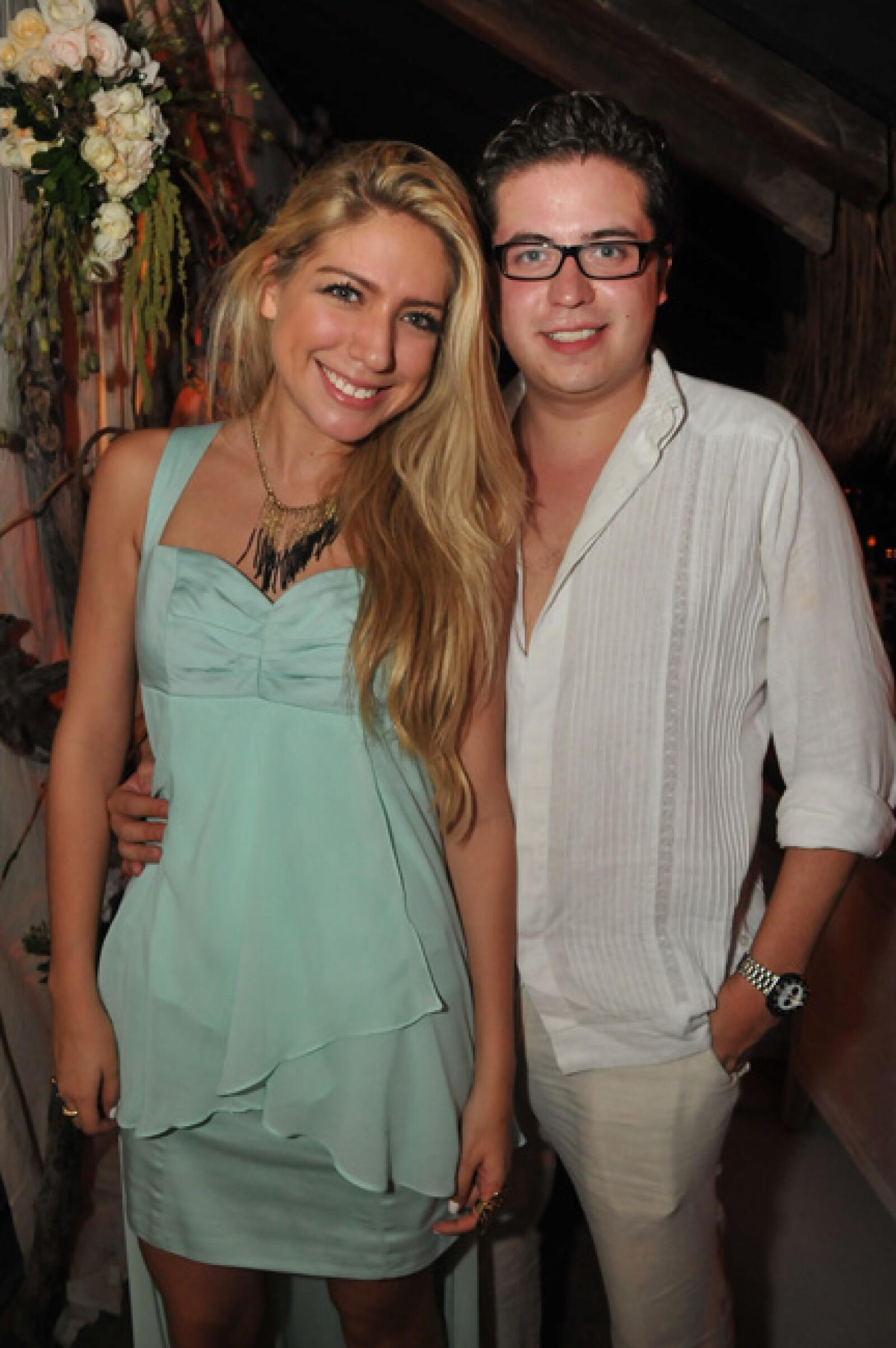 Marimar Barrientos y Alejandro Limón.