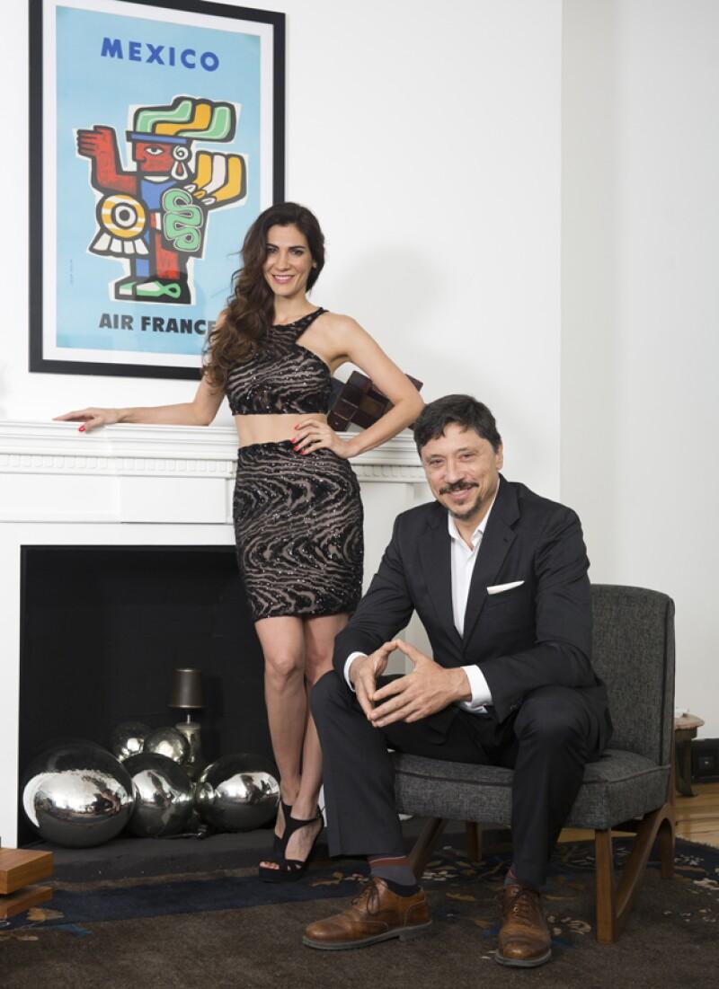 Estos actores se encuentran residiendo en México, cada uno con diferentes proyectos. ¿Qué los une?: El amor que se tienen desde hace cinco años. Ellos nos contaron su romántica y exitosa historia.