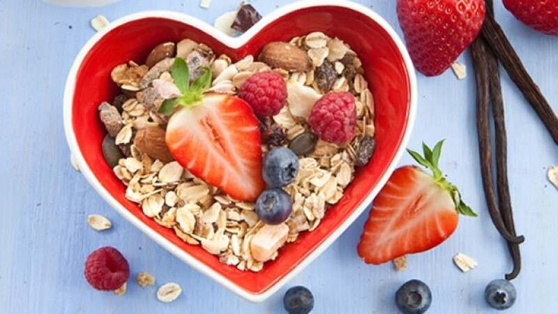 corazon salud comida