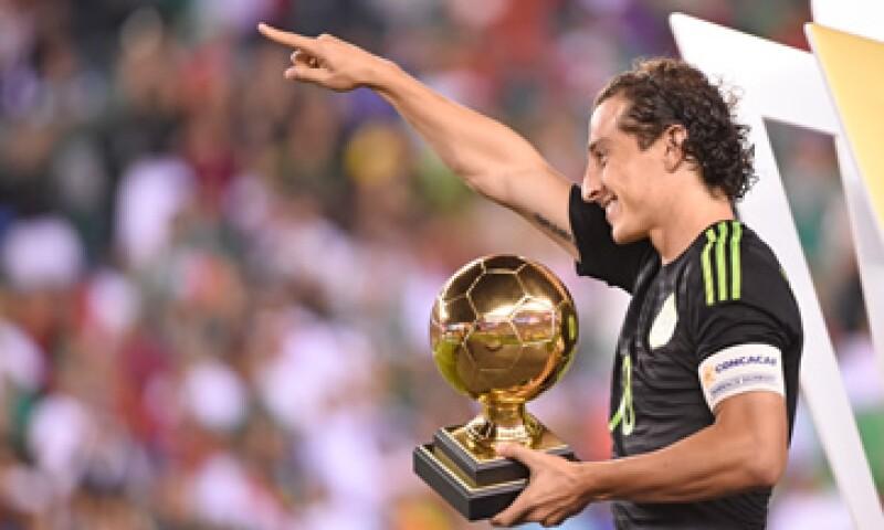 Andrés Guardado es uno de los jugadores más valiosos entre los 11 que jugaron la final de la Copa Oro. (Foto: Reuters )