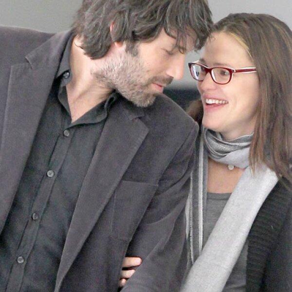 En 2012, la pareja se veía muy feliz y estable.