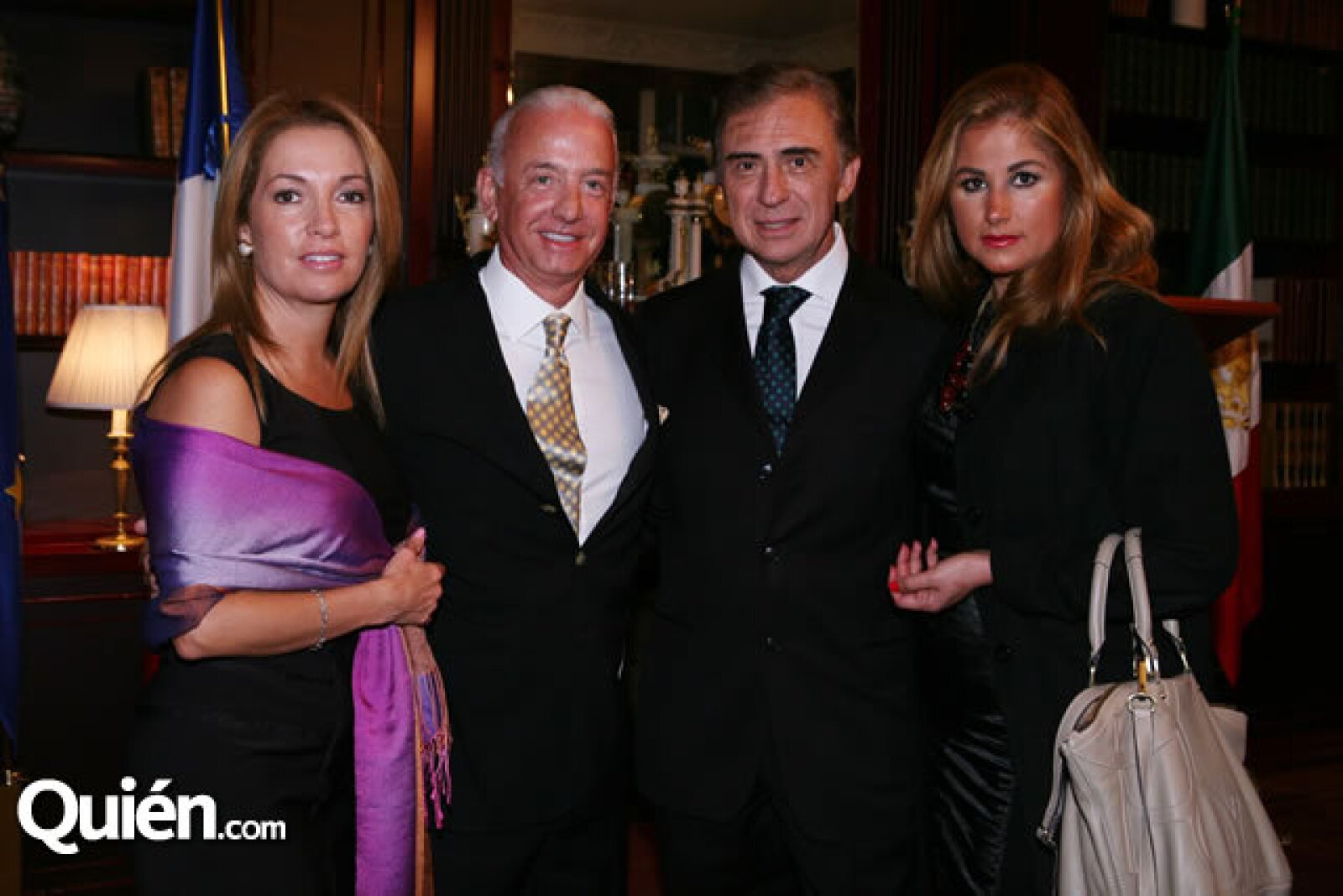 Paulina Stiglitz,José Antonio Valdez,Jaime y Lourdes Sánchez Montemayor