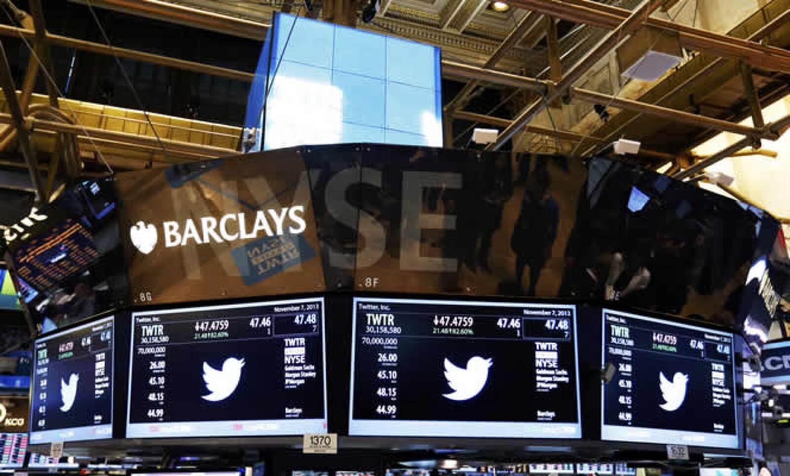 La capitalización de Twitter se acerca a la de otras empresas como LinkedIn y Yahoo.