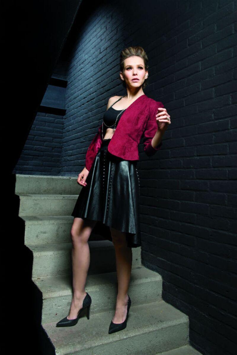 Kika Edgar es una de las actrices invitadas del exitoso musical Mentiras.