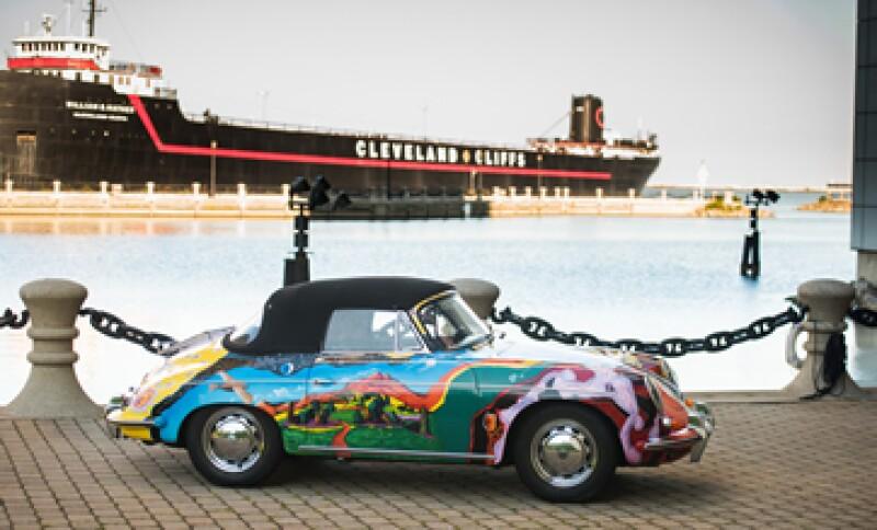 El auto fue exhibido en el Salón de la Fama del Rock & Roll por 26 años(Foto: AFP )