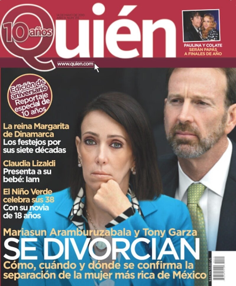 No te pierdas el más reciente número de la revista Quién.