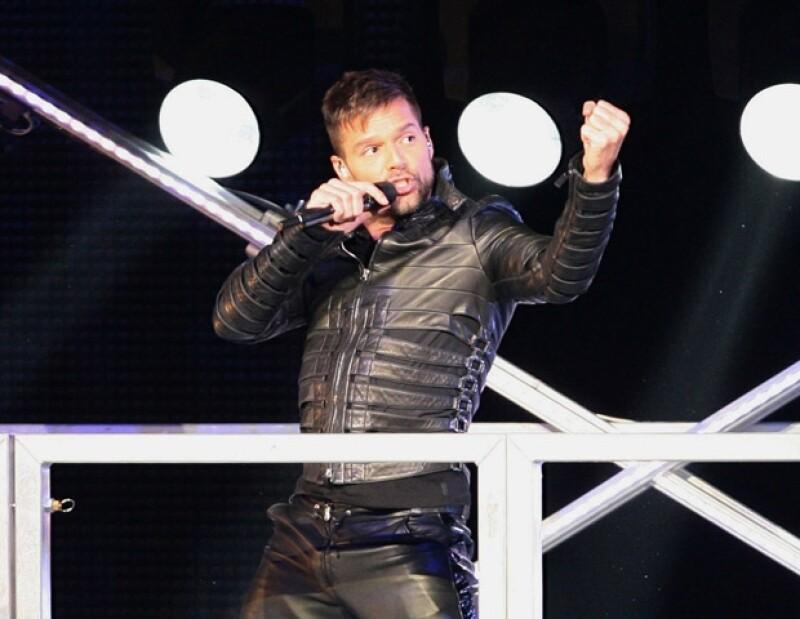 Ricky Martin declaró su homosexualidad en 2010 y desde entonces no tiene miedo de pronunciarse en favor de la comunidad gay.