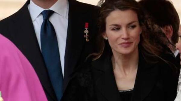 El príncipe Felipe de Borbón y la princesa Letizia Ortiz, no faltaron a tan importante cita.