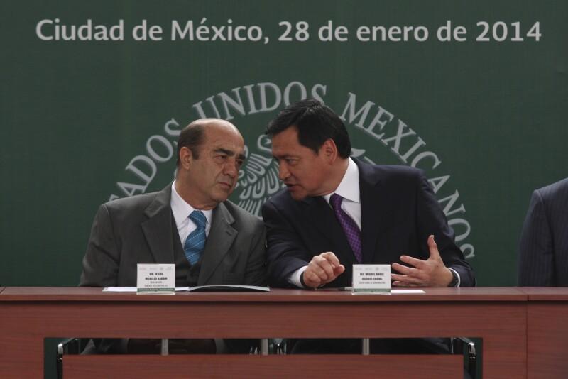Los priistas Murillo Karam y Osorio Chong, exgobernadores de Hidalgo y antiguos aliados políticos de Omar Fayad.