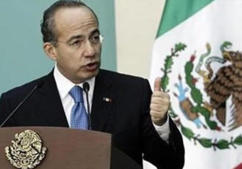 Felipe Calderón participará en la XV Conferencia de las Naciones Unidas sobre Cambio Climático que se celebra en Dinamarca.  (Foto: Reuters)