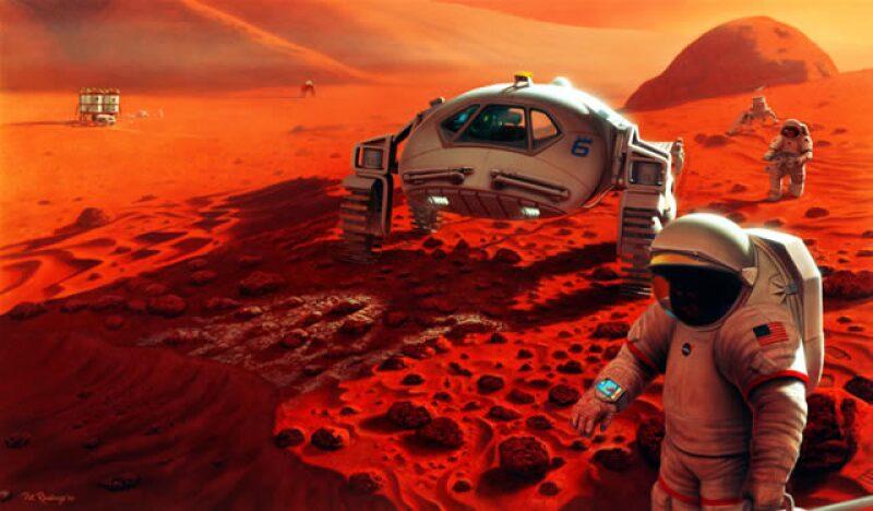 Los jóvenes también resolverán en simuladores problemas que podrían enfrentar los exploradores marcianos (Foto:QUO )