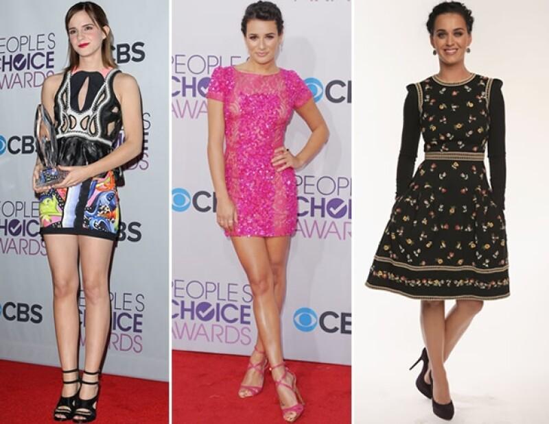 Taylor Swift, Julianne Hough y Naomi Watts fueron aplaudidas por su estilo mientras que Lea Michele, Emma Watson y Katy Perry dejaron mucho qué desear.