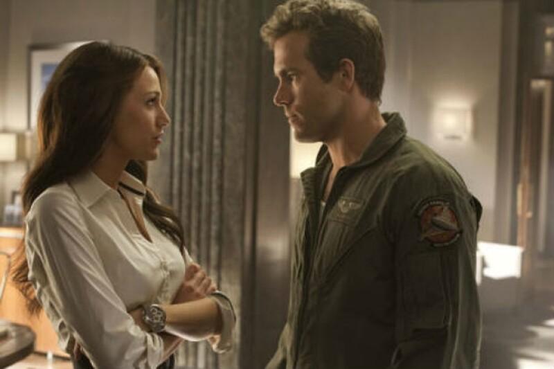 Una película de superhéroes fue el detonante del amor entre Blake y Ryan.