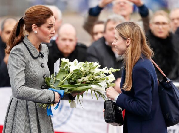 Kate Middleton y Natalie Barrows