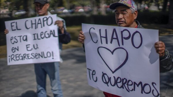 Chapo Guzmán apoyo SRE