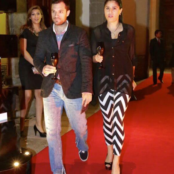Gabriel Veytia y Mariana Castillo