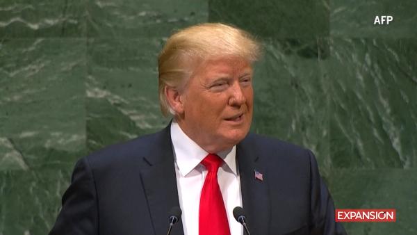 Donald Trump dice que la Asamblea de la ONU se rió con él y no de él