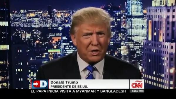 Trump duda de autenticidad del audio de Access Hollywood por el que se disculpó