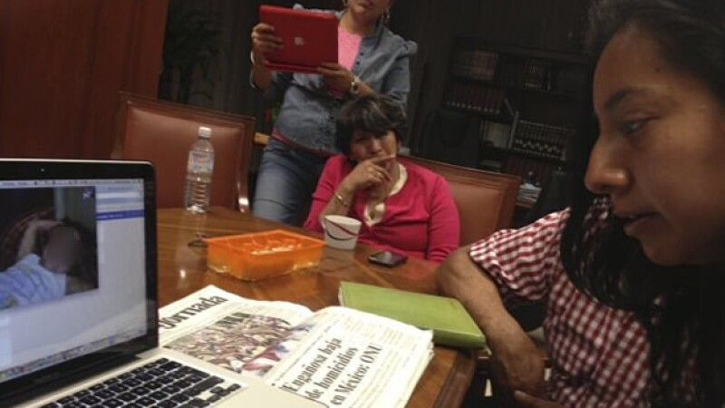 Valeria Estado de México alcaldesa de Texcoco Delfina Gomez