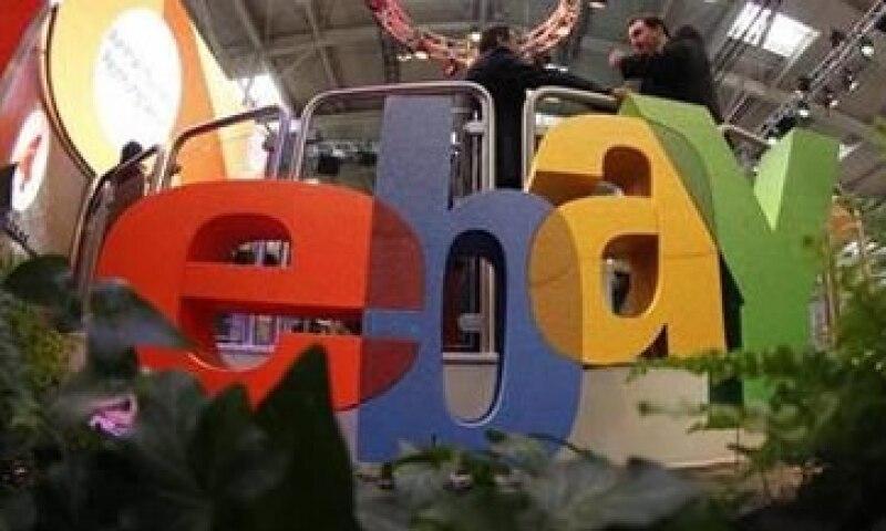 eBay pronostica para el segundo trimestre una ganancia de entre 53 y 55 centavos por acción. (Foto: Reuters)