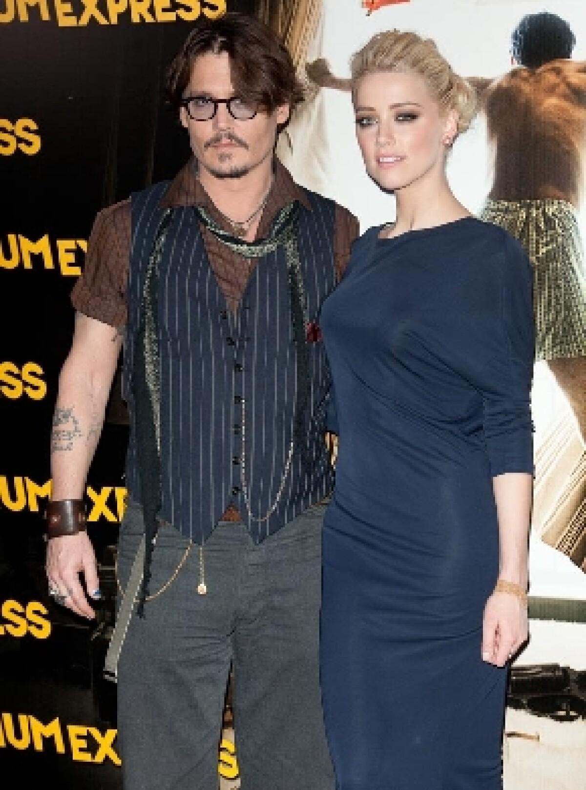 A Johnny Depp le pegó el amor: quiere casarse con Amber Heard