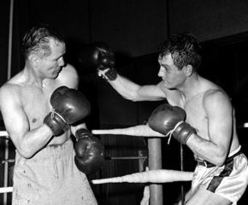 Paul, a la derecha, en su primer trabajo destacado en el cine, Marcado por el odio.