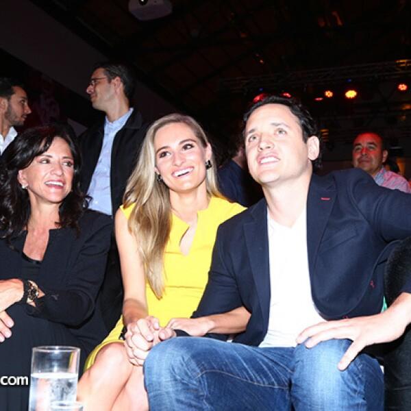 Christiane Dornbierer y Emilio Hank,Marcela Talancón