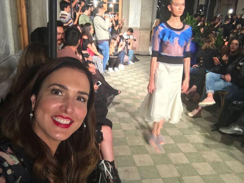 Alexia Ulibarri presentó en el MBFWMx