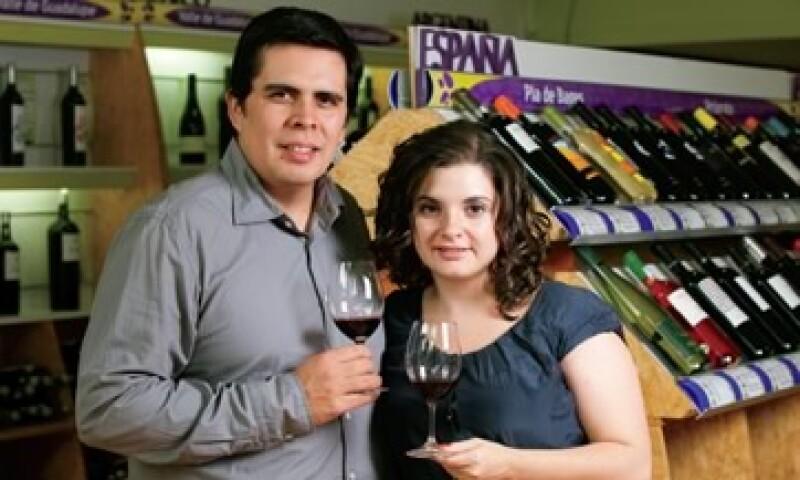 Alejandro Zárate y Emilie Valencia, fundadores de Bacus (Foto: Adán Gutiérrez)