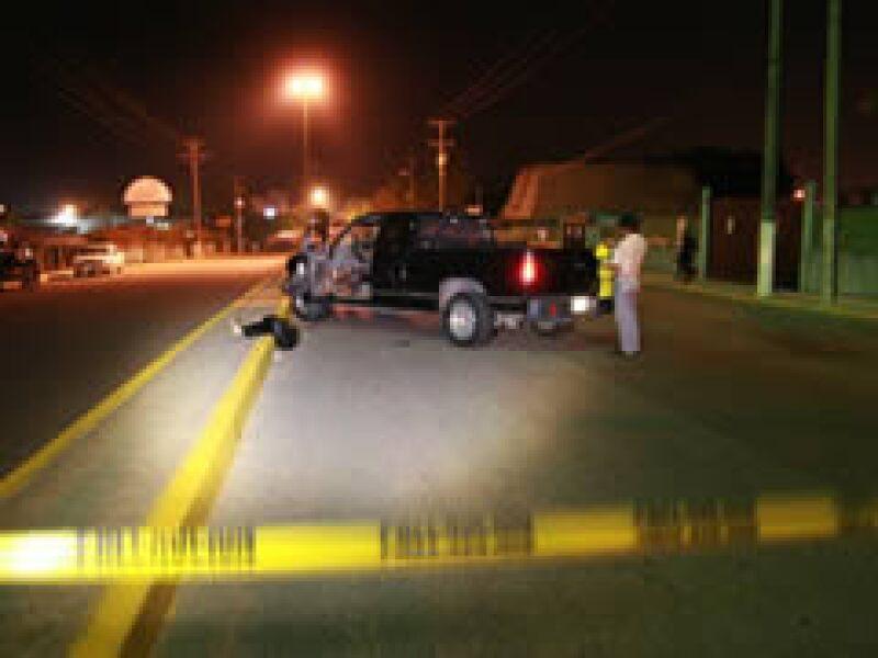 El atentado contra el subprocurador en Tabasco dejó varios policías heridos. (Foto: Notimex)