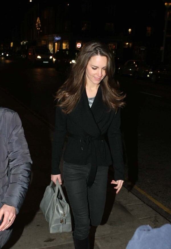 Kate Middleton shopping on the King's Road, London, Britain - 13 Dec 2010