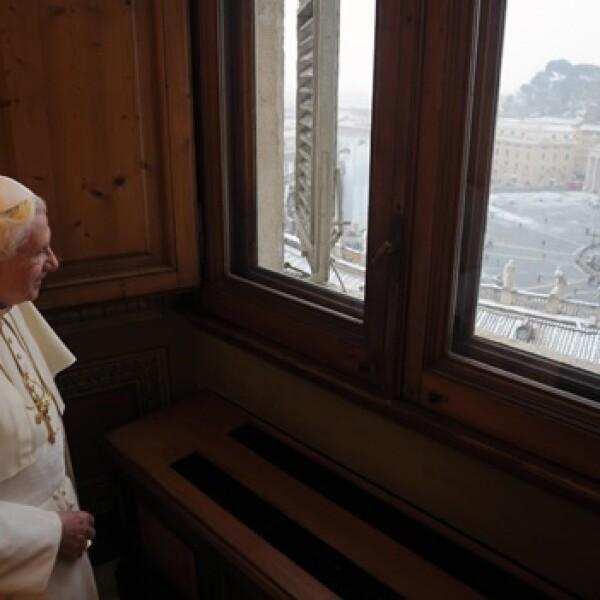 Vaticano Papa invierno