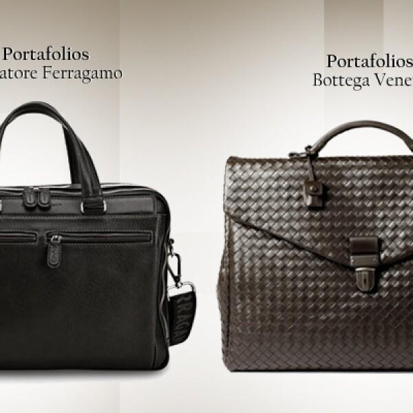 Si no eres muy arriesgado opta por un maletín sencillo, no muy alejado del clásico portafolios. Suficiente para llevar algunos documentos y cosas necesarias.