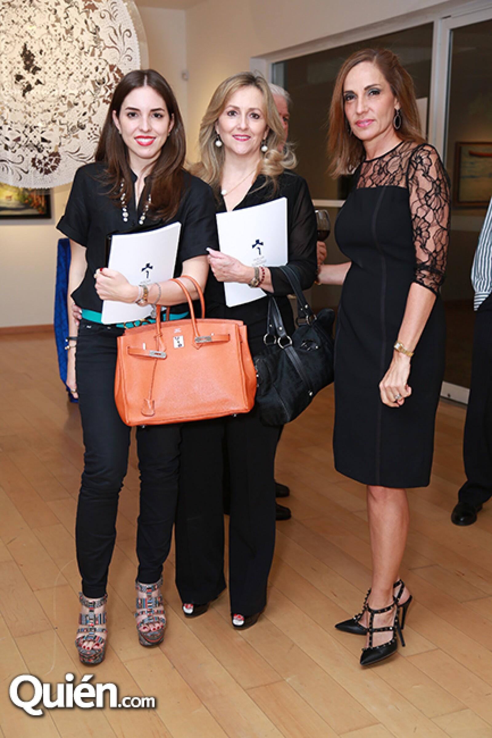 Ana Cecy Martin,Cecilia Eurza e Isabel Ruenes de Martin