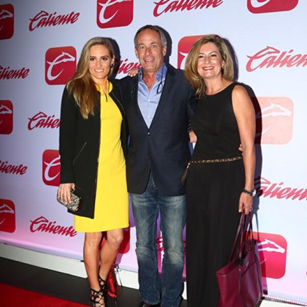 Christiane Dornbierer, Jacques Dornbierer y Gergina Escalona