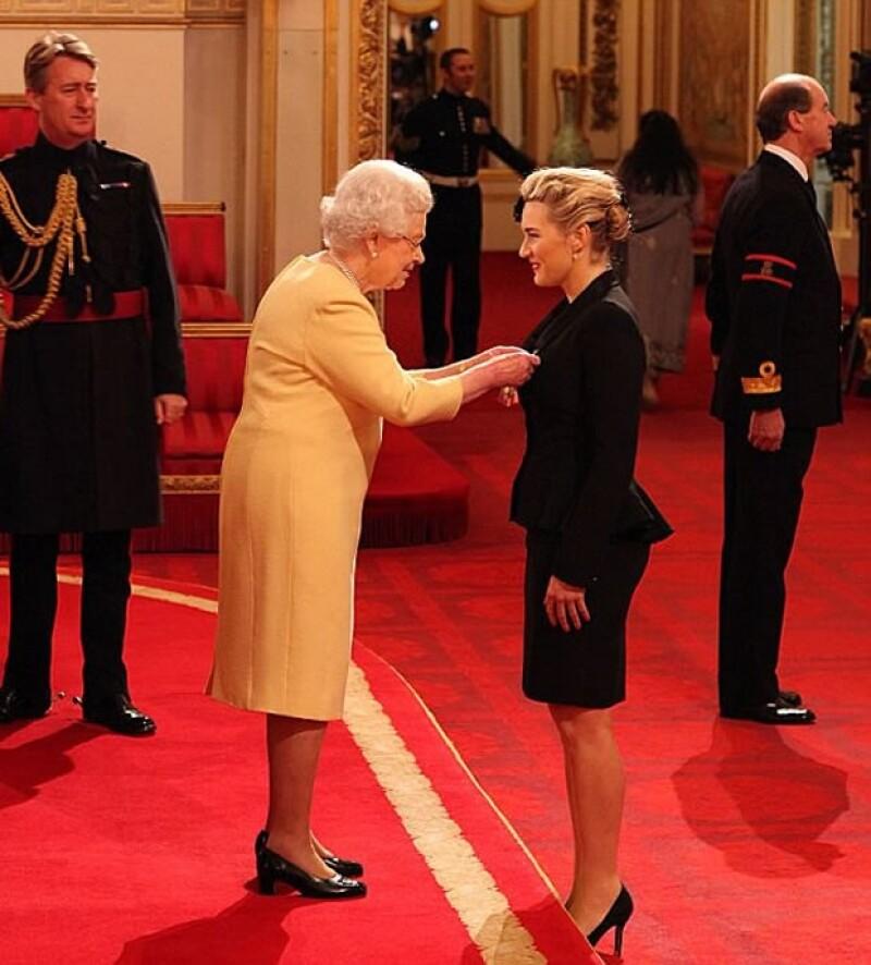 La ceremonia fue en el Palacio de Buckingham.