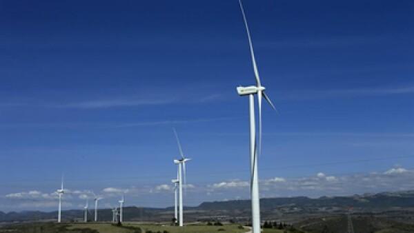 La instalación se convirtió en el quinto parte eólico de Iberdrola en México. (Foto: EFE)