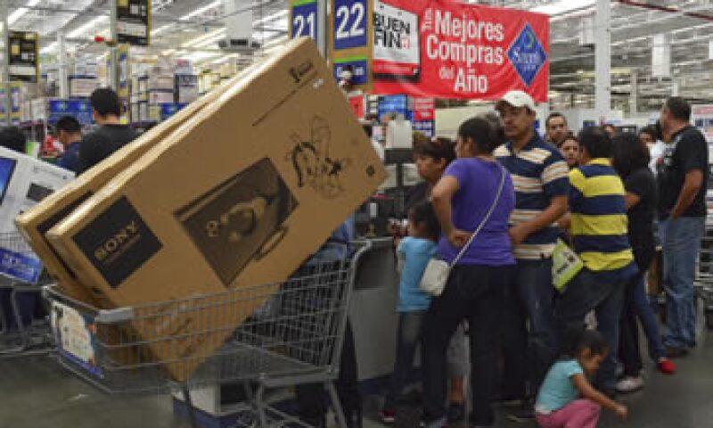 Se espera que con el Buen Fin, las ventas totales de noviembre sean 3.5% mayores a las registradas el año. (Foto: Cuartoscuro)