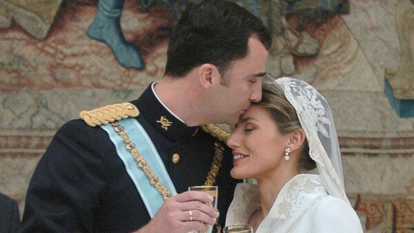 Wedding Of Spanish Crown Prince Felipe and Letizia Ortiz