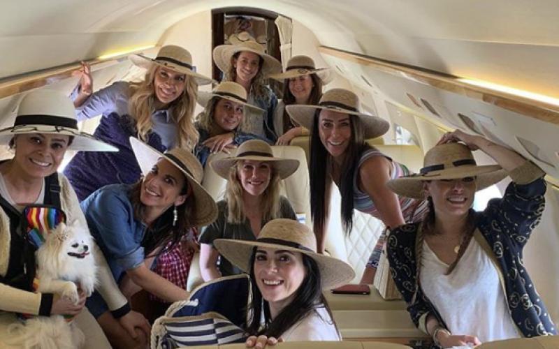 Inés Gómez Mont organiza gran fiesta en Acapulco con sus amigas
