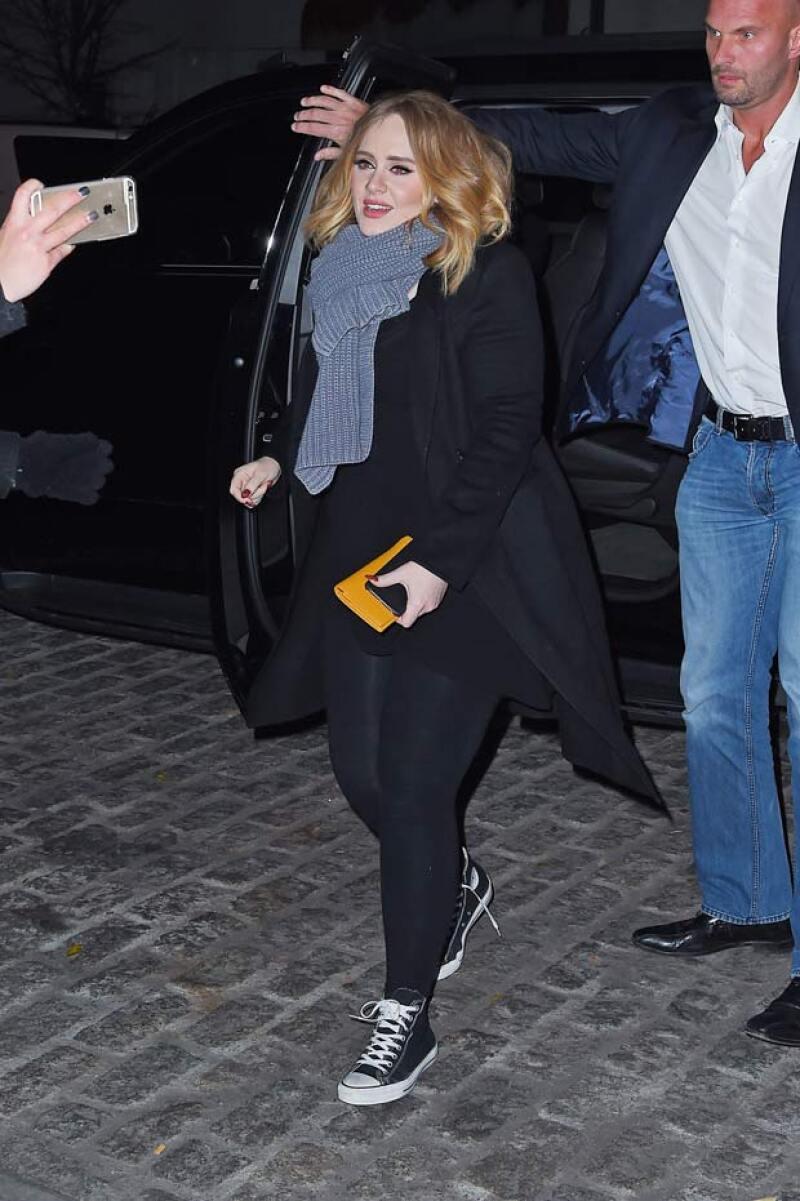 La cantante ha bajado de peso considerablemente, por lo que ha cautivado no solo con su talento, sino con su imagen.