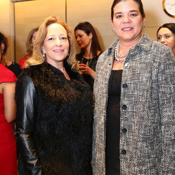 Claudia Berger y Sonya Santos