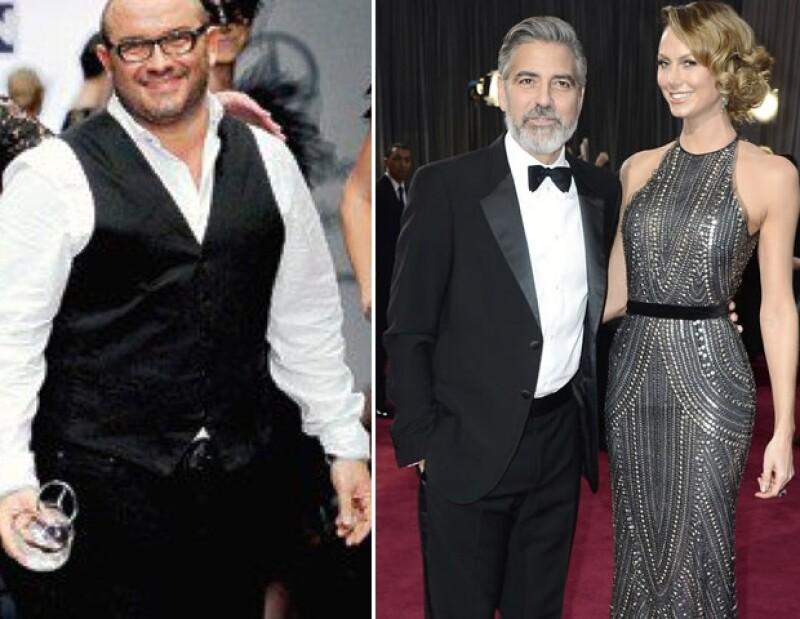 El diseñador David Salomón confesó que el vestido de Naeem Khan se robó la atención de las cámaras antes que la galanura de Clooney.