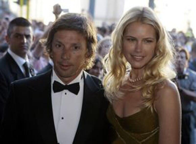 El fisco argentino culpa a la modelo y a su esposo, Alejandro Gravier, de ocasionarle pérdidas por cerca de siete millones de pesos argentinos.